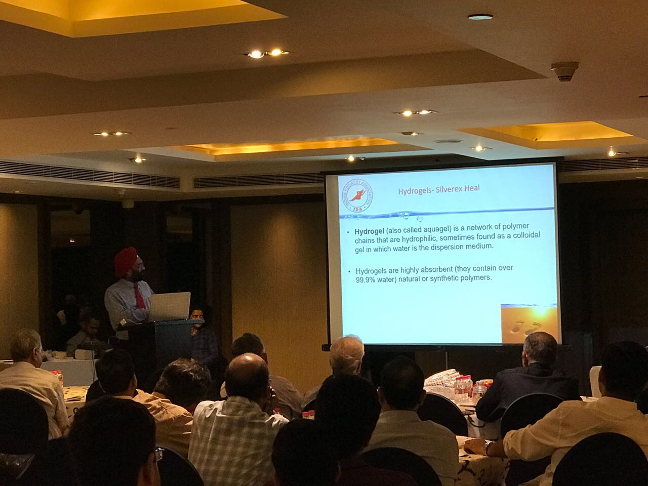 11 August 2018 - Diabetic Foot Care CME Done in Delhi With Sun Pharma