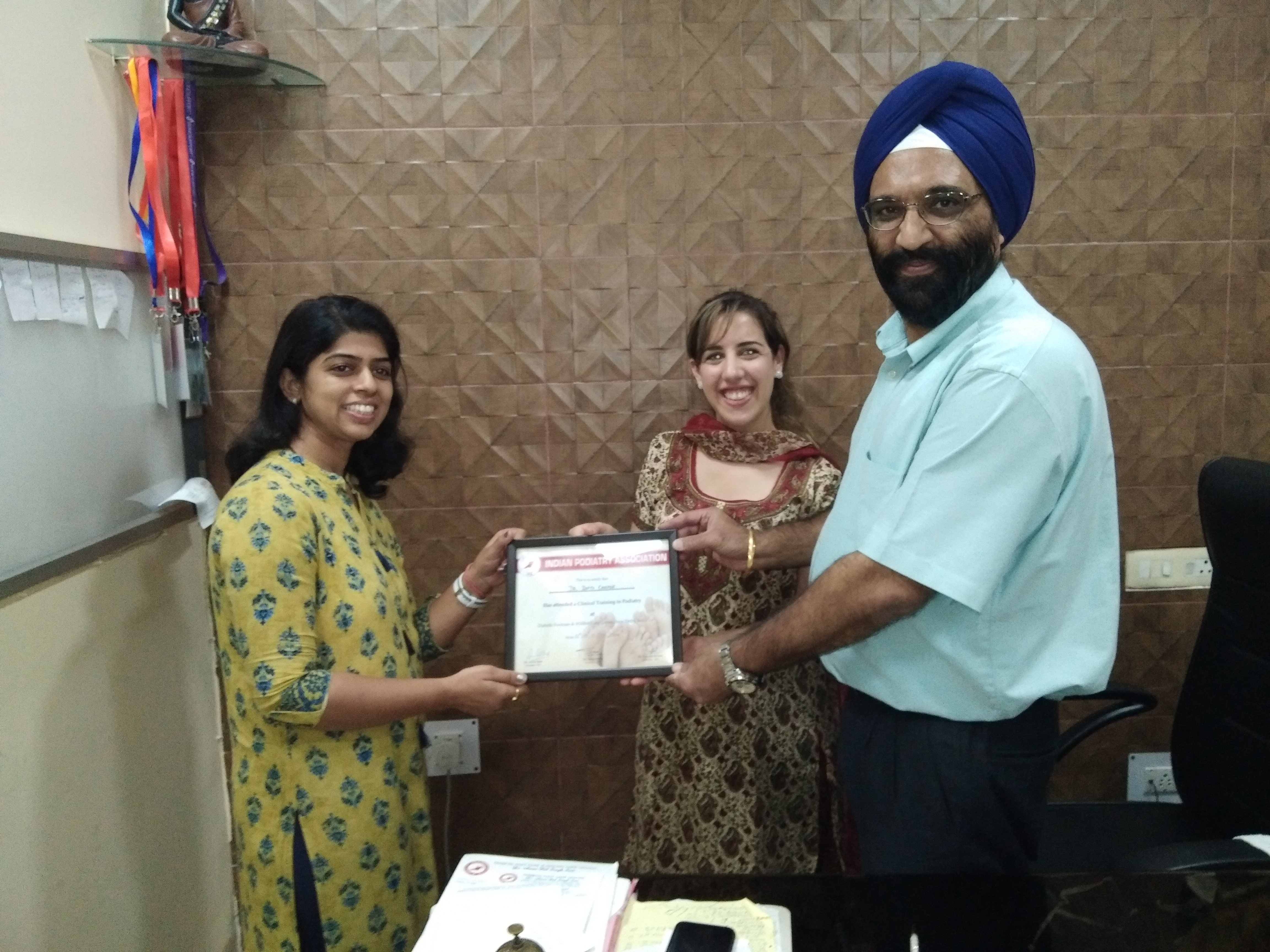 Diabetes Educators Training in Podiatry at Diabetic Foot Care Center in  New Delhi  India 26th Sept to 3rd Oct 2018