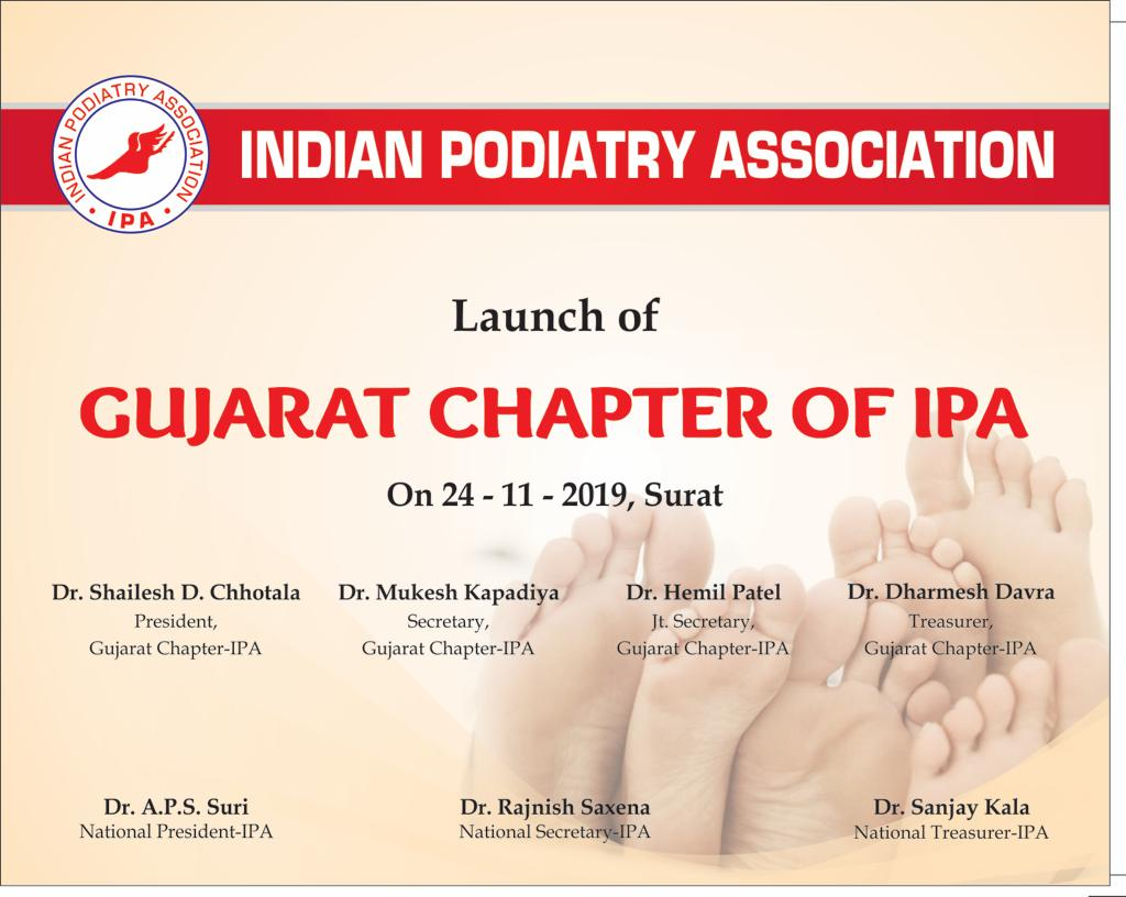 24th November 2019 Launch of Gujarat Chapter of IPA