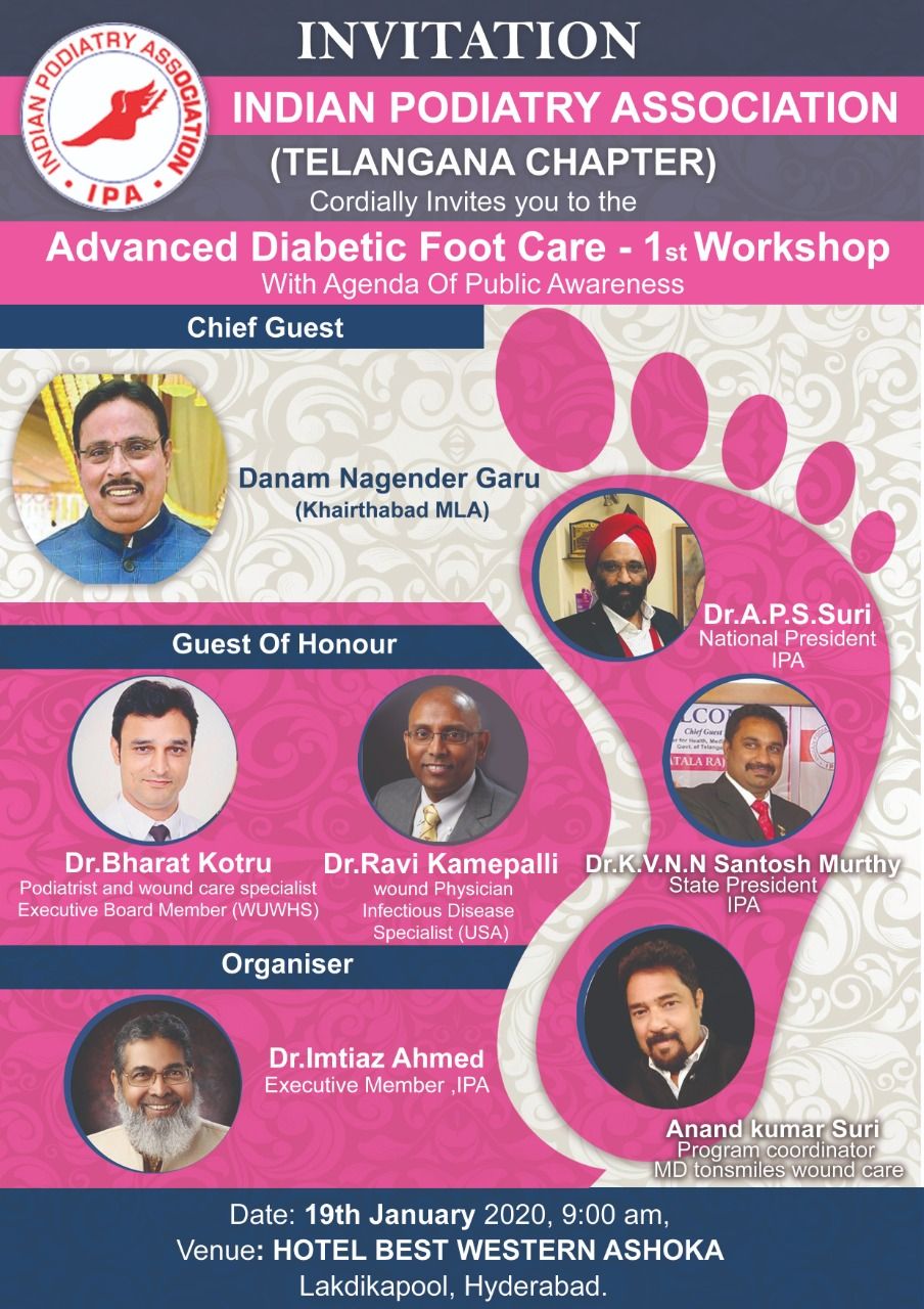 Indian Podiatry Association Telangana Chapter